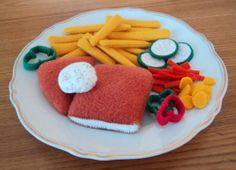Smažený sýr s hranolkami