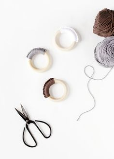 DIY Crochet Teething Ring @themerrythought