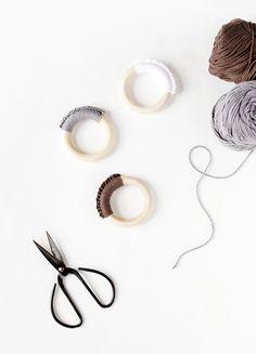 DIY Crochet Teething Ring @themerrythought