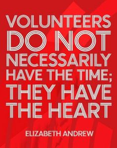 Volunteering is key to a happy life