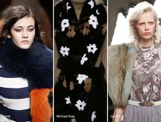 Fall/ Winter 2016-2017 Accessory Trends: Fur Scarves