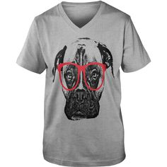 This Boxer Dog with Glasses shirt is a perfect gift for yourself or any loved ones. Get one now, dont hesitate!