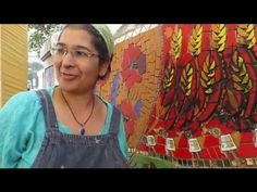 Here I demonstrate how to mix Latricrete grout & admix to apply onto a vertical surface. This film shows the final day of the Flowing Meadow Mosaic created b...