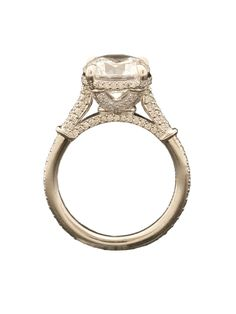 Michael B. Platinum Florence Collection Engagement Ring at London Jewelers!