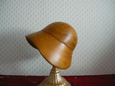 Beautiful Cloche Millinery Wooden Hat Block | eBay