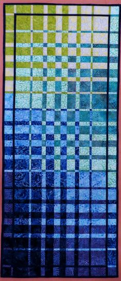 Hey, I found this really awesome Etsy listing at https://www.etsy.com/listing/488504790/quilted-convergence-wall-hanging-runner
