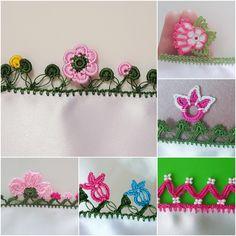Yazma Kenarı Tığ Oyaları Lace Earrings, Lacemaking, Piercings, Moda Emo, Needle Lace, Lace Flowers, Bunt, Needlework, Embroidery