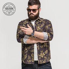 21c7dd3d9de GELISEN 2015 Brand Fashion Men s Large Size shirt Big Men Fashion