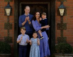 "Prince William, Kate Middleton, Prince George, Princess Charlotte and Prince Louis all came together to applaud NHS workers on a campaign ""Clap for Carers"""
