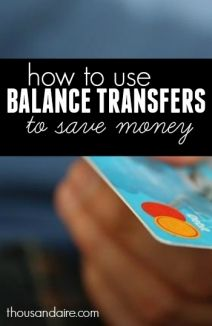 Planning to do balance transfers?Here's the smart way to save money!