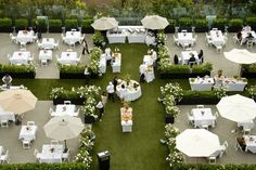 Rose garden ceremony at The London West Hollywood