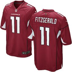 Men Nike Arizona Cardinals  11 Larry Fitzgerald Limited Red Team Color NFL  Jersey Football Jerseys 4e5f9fb07