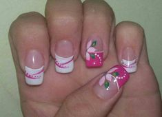 This is a very nice Trendy Nail Arts Design in nude or pastel colors with rhinestone or diamond or glitters , It gives sophisticated and luxurious looks in your nails. Its just enough glitz to have a stylish yet not overbearing nail art design. Fingernail Designs, Toe Nail Designs, Nail Polish Designs, Get Nails, Pink Nails, White Nails, French Nails, Nagel Hacks, Acrylic Nail Art