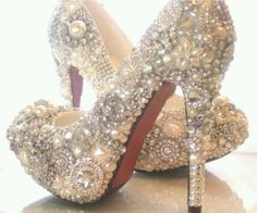 bedazzeled heels
