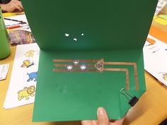 This activity introduces programmed light behaviors using Chibitronics effect stickers. Effect stickers are pre-programmed light stickers that make your LE