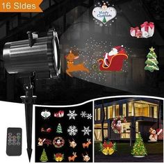 Aggressive Christmas Flashlight Card Animation Lamp Pattern Decorative Lighting Projectors Projection Flashlight Led Lamp Xmas Light Keep You Fit All The Time Lights & Lighting