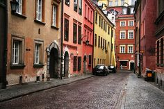 Warsaw's Old Town by iwona_kellie, via Flickr