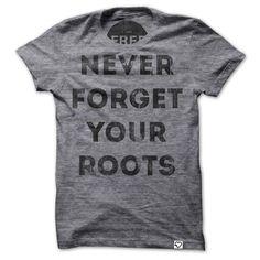 Roots T-shirt Crewneck