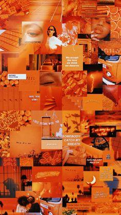 Retro Wallpaper Iphone, Orange Wallpaper, Trippy Wallpaper, Mood Wallpaper, Iphone Wallpaper Tumblr Aesthetic, Iphone Background Wallpaper, Aesthetic Pastel Wallpaper, Aesthetic Wallpapers, Office Wallpaper