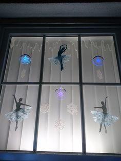 Snowflakes, Adventsfenster, Weihnachtsdeko