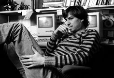 Steve Jobs.  Photo by Norman Seeff
