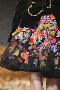 """mulberry-cookies: """" McQ by Alexander McQueen Fall 2012 (details) """""""
