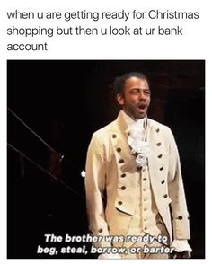 A couple hamilton Christmas memes in July because fuck expectations bros - Theatre Nerds, Musical Theatre, Arts Theatre, Theater, Waitress Musical, Hamilton Broadway, Hamilton Musical, Alexander Hamilton, Daveed Diggs