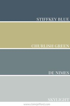 A rich blue, Farrow & Ball's Stiffkey Blue can be used in traditional spaces or to give a more dramatic look to a contemporary design. See more colour combinations and paint palettes here. Blue Paint Colors, Interior Paint Colors, Accent Colors, Colour Combinations, Colour Schemes, Stiffkey Blue, The Undertones, Paint Palettes, Farrow Ball