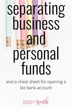 your biz need it's own bank account? Do I need to open a business bank account?Do I need to open a business bank account? Business Management, Business Planning, Business Tips, Business School, Small Business Resources, Business Essentials, Business Coaching, Business Motivation, Craft Business