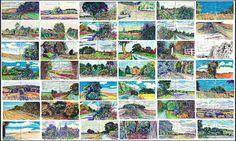 Martin Beek - Sketchbook pages August-October 2013