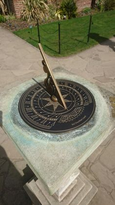 Wisley gardens, sundial