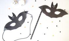 Les masques du Carnaval: le masque de chauve-souris - Momes.net