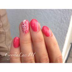 #nails with CrystaLac #gelpolish