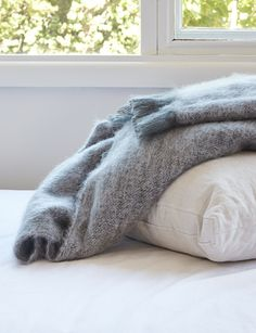 Abode Living - Blankets and Throws - Mohair Throw Rug - Abode Living