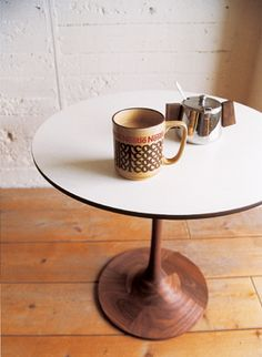Captivating Truck Furniture; Wooden Tulip Base    Turn My Own Table Base.