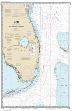 Cape Canaveral to Key West (11460-43) by NOAA