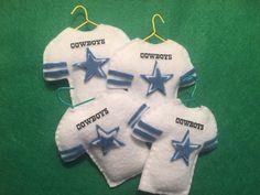 Felt Cowboy Jersey ornaments