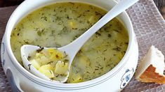 Суп из молодого картофеля с укропом. Пошаговый рецепт с фото на Gastronom.ru