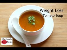 Weight Loss Tomato Soup Recipe - Oil Free Skinny Recipes - Weight Loss Diet Soup - Immune Boosting - YouTube