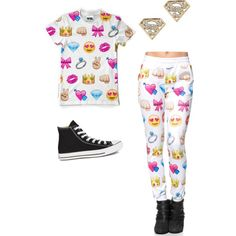 Simple things by kimfowlkes on Polyvore featuring polyvore, fashion, style and Converse