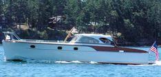 Motorboat, Classic Wooden Boats, Deck Boat, Cabin Cruiser, Motor Yacht, Yachts, Wheels, Ship