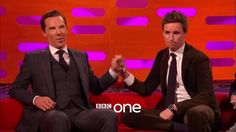 Benedict and Eddie Redmayne on The Graham Norton Show - 28th October 2016