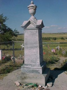 Wounded Knee Memorial, SD, July 2006