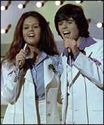 """Donny & Marie-loved them. Loved their television show. Donny was so """"dreamy,"""" Every time he sang """"Puppy Love,"""" I would just melt. Ooooooo the memories! LOL"""