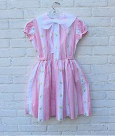 FRENCH VINTAGE 60's / kids / party dress / by Prettytidyvintage