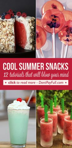 Cool Summer Snacks: 12 Tutorials That Will Blow Your Mind #DontPayFull