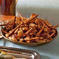 Honey-Bacon Snack Mix