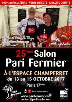 25ème salon Pari Fermier à l'Espace Champerret (17ème)