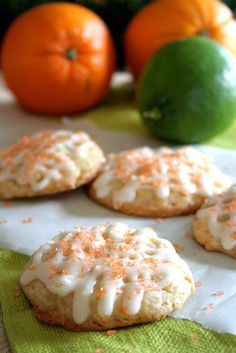 White Chocolate Citrus Spice Eggnog Cookie  made by @Paula - bell'alimento