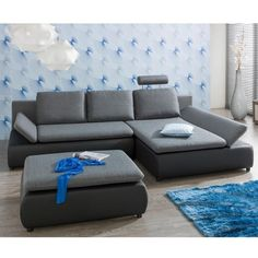 """Sedací souprava """"Medison"""" Sofas, Couch, Furniture, Home Decor, Master Bedroom Closet, Mattress, Bed, House, Couches"""